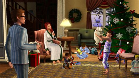 do you think there s gonna be christmas in sims 3 seasons