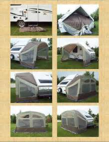 Motorhome Awning Sides Folding Camper New