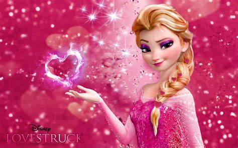 imagenes de love pink frozen love version lovestruck disney fan art