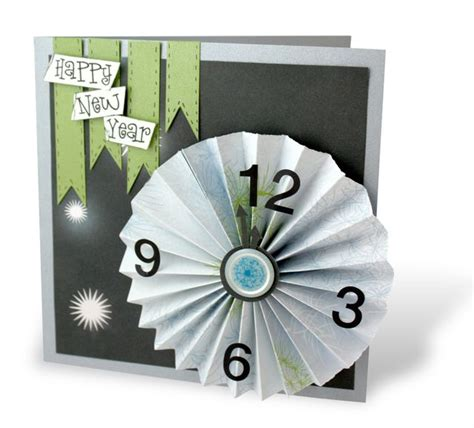 new year card ideas happy new year scrapbooking card idea scrap