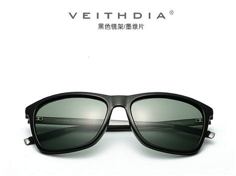 Sunglasses Luxury Polarized veithdia luxury mens polarized uv400 sunglasses sports driving glasses eyewear