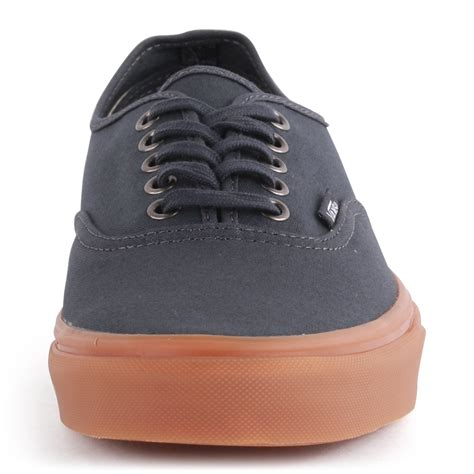 Vans Authentic Navy Sole Gum Premium Bnib Free Tas Sepatu vans gumsole authentic mens trainers in navy