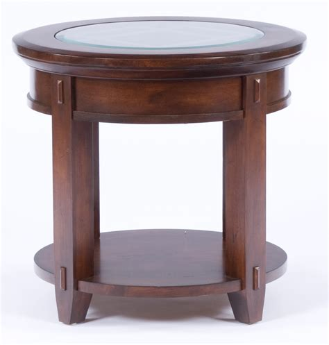 broyhill vantana round end table 4986 000