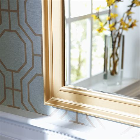 Frame Bathroom Mirror With Moulding by How To Make A Diy Mirror Frame With Moulding