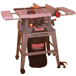 craftsman table saw casters craftsman 10 in table saw with dust collection system and