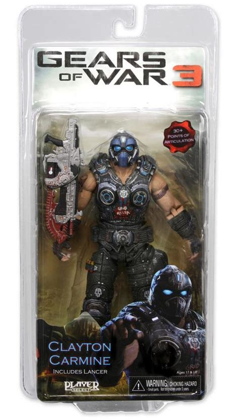 b carmine figure clayton carmine figure series one gears of war