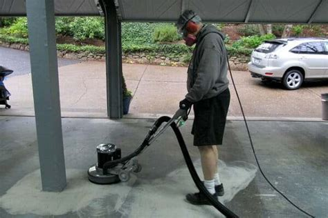 How to Grind a Garage Floor the Easy Way   All Garage Floors