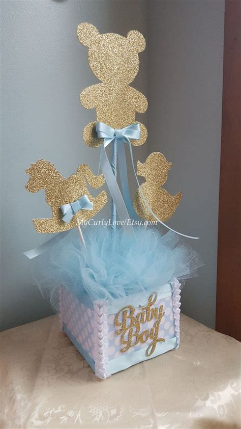 best 25 baby shower centerpieces boy ideas on