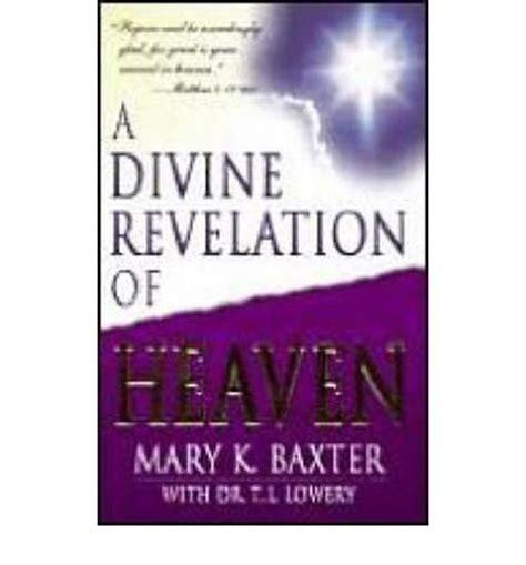 A Revelation Of Heaven a revelation of heaven k baxter 9780883685242