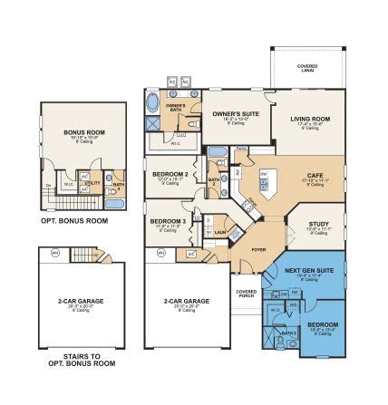 Floor Plans With Inlaw Quarters | house plans in law quarters house designs with inlaw