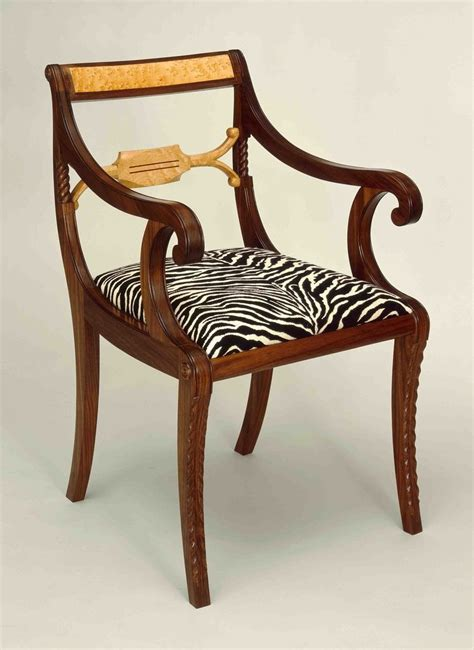 Duncan Phyfe Chair custom duncan phyfe arm chair by marty mackenzie