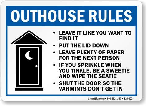 Bathroom Etiquette Signs Bathroom Signs