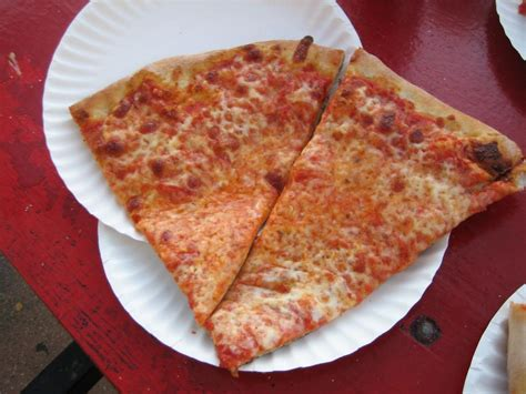 Spumoni Gardens Pizza by L B Spumoni Gardens Roadfood