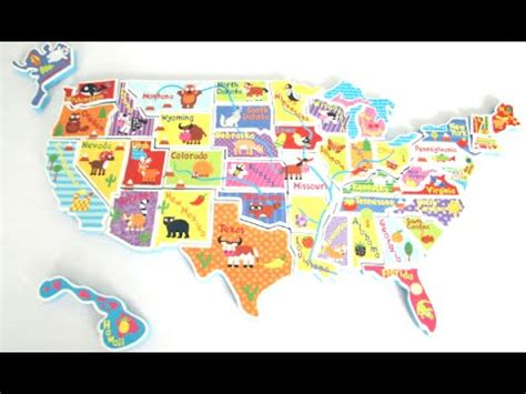 usa map puzzle in the tub usa map in the tub from alex brands