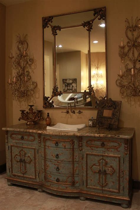 tuscan bathroom mirrors 1000 ideas about tuscan bathroom decor on pinterest