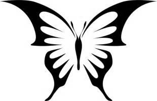 butterfly stencil template gem swallowtail bbutterfly stencils stencilease