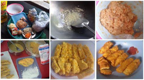 bahan untuk membuat jamur crispy resep membuat nugget ayam jamur tiram home made higienis