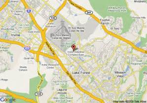 map of residence inn irvine spectrum irvine