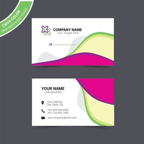 Design Template For Visiting Cards by Visiting Card Design Sle Free Wisxi