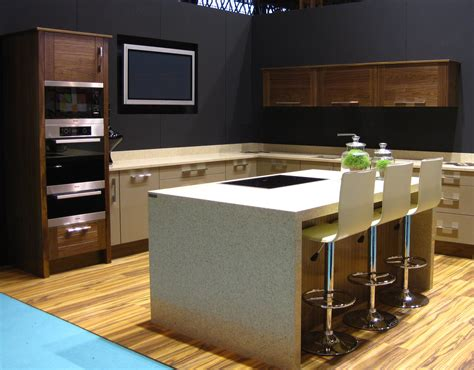 Ex Display Kitchen Islands Ex Display Walnut And Painted Kitchen Island Silestone