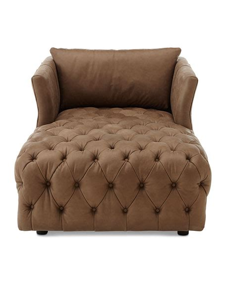 tufted leather sofa with chaise furniture tufted leather chaise
