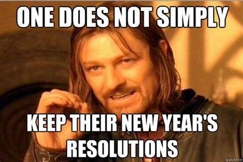 New Years Resolution Meme - new year s resolutions 2017 all the memes you need to see
