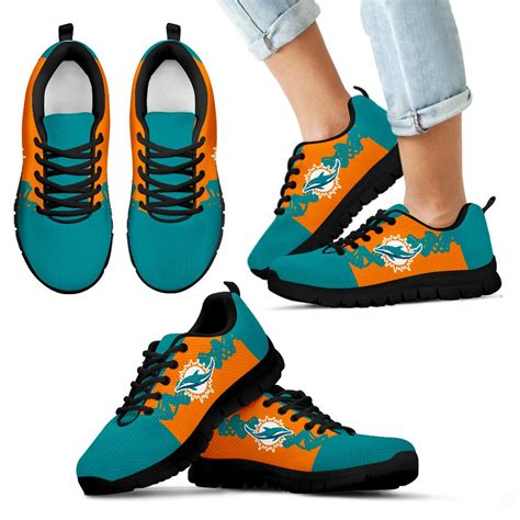 doodlebugs miami doodle line amazing miami dolphins sneakers v1 best
