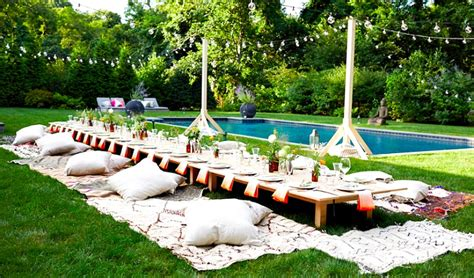Backyard Birthday Party Ideas Green And Gorgeous Garden Inspired Table Settings