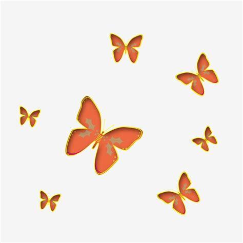 Clipart Farfalla by Orange Butterfly Orange Clipart Butterfly Clipart Black