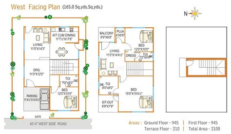 West Facing House Vastu Plan House Design Plans West Facing House Vastu Plan