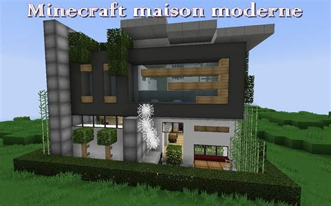 Master On Main House Plans by Minecraft Maison Moderne Minecraft Aventure Com
