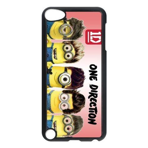 Cool 1d One Directionhard Iphone Casesm selling 1d one direction style minions phone for apple ipod touch 5th