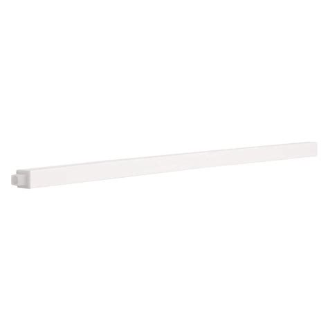 bathroom towel bar replacement 24 in replacement towel bar rod in white 662308 the