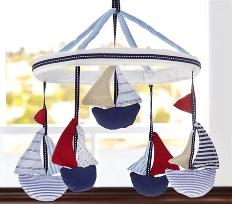 Pottery Barn Crib Mobile by Sailboat Crib Mobile Pottery Barn