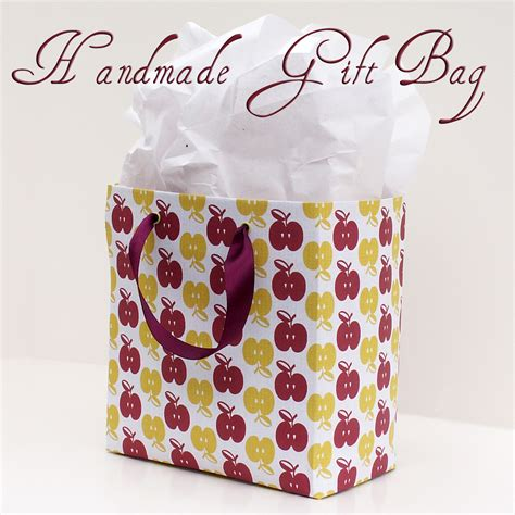 Handmade Craft Bags - taking time to create handmade gift bags
