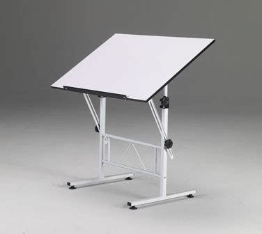 Mobile Drafting Table Martin 174 Smart Drawing Craft Table