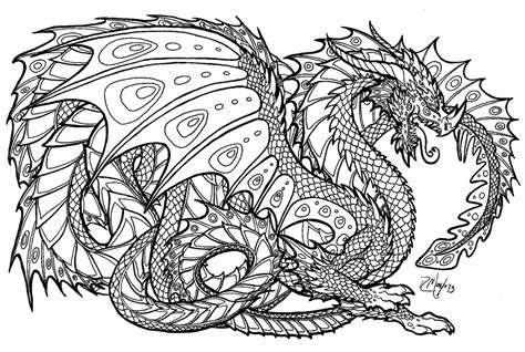 Coloring Pages Hd | hd realistic dragon coloring pages images free coloring