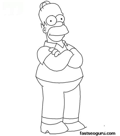 coloring pages of the simpsons christmas homer simpson christmas coloring pages coloring pages