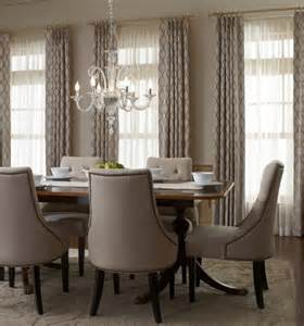 17 best ideas about dining room curtains on