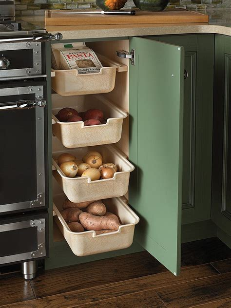 Kitchen Cabinet Storage Bins 30 Corner Drawers And Storage Solutions For The Modern Kitchen