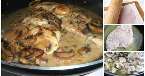 come cucinare le scaloppine ai funghi ricette di scaloppine ai funghi