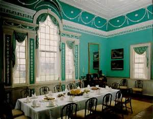Mount Vernon Dining Room by By George A Visit To Mount Vernon Polloplayer