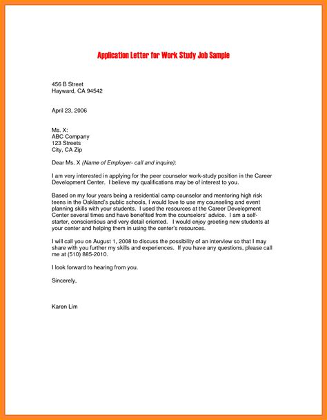 application letter for the vacancy 10 sle of application letter for vacancy pdf