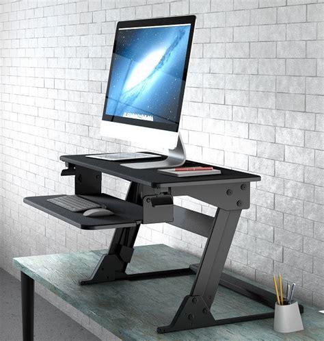neutral posture sit stand desk converter standup x1