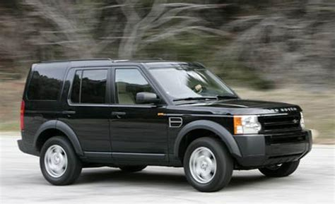 black land rover lr3 car and driver