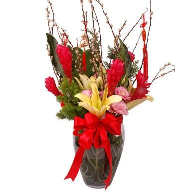 new year flowers auspicious blooms auspicious bloom new year flowers