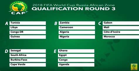 Calendrier Cm 2018 Zone Afrique Coupe Du Monde 2018 La Tunisie 224 La T 234 Te D Un Groupe 224