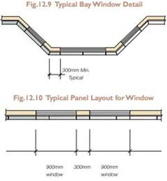 bow window construction detail csr hebel powerwall design and detailing considerations