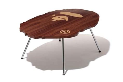 bape couch clothing logo furniture bape coffee table