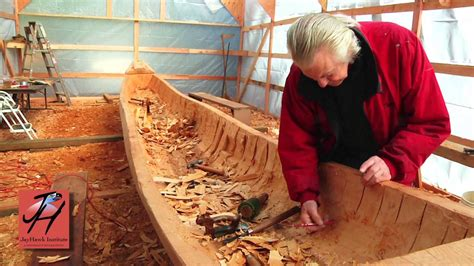 canoes northwest 7 hollowing out the canoe nw coast indian canoe project